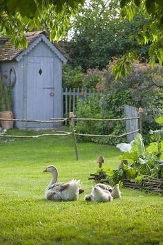 Country Farm, Country Life, Country Living, Magic Garden, Dream Garden, Blue Garden, Esprit Country, Vida Natural, Loire Valley