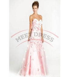 Floor Length Prom Dresses Gorgeous Sweetheart Applique Prom Dresses Evening Party Dresses