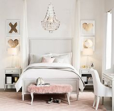 Teenage Bedroom Inspiration - Teenage spaces are so much fun to design due to a crazy array of styles and tastes. Here are some well-designed teen bedrooms I love, as well as some tips for designing your own!