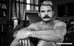 This is a case where I will just let these beautiful images speak for themselves. Shawn Morales returns to the pages of Starrfucker Magazine with his first ever full frontal photo shoot.
