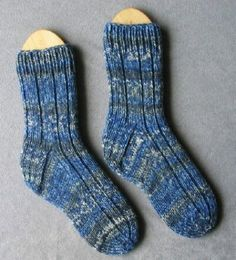 My Boring 6 ply Socks Finished