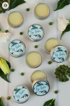 Say goodbye to dry lips with our all-natural lip balm. The base for this beauty DIY is made with hydrating shea butter and coconut oil to leave lips feeling soft and supple. Homemade Lip Balm, Diy Lip Balm, Homemade Beauty, Diy Beauty, Bees Wax Lip Balm, Shea Butter Lip Balm, Lip Balm Recipes, Soap Recipes, Natural Lip Balm