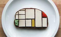 Presque un Mondrian ! #food #art #foodart