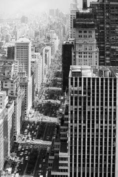 NYC.  Uptown View // Rinze van Brug