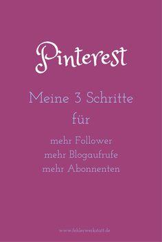 Mit diesen 3 Schritten erhöhe ich meine Sichtbarkeit bei Pinterest