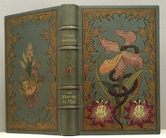 First edition of Les Fleurs du mal by Charles Baudelaire.