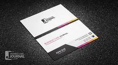 Free Unique & Modern Corporate Business Card Template => more at designresources.io