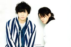 Oguri Shun - Ikuta Toma on +act. mini vol.28, 2015