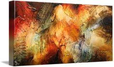 """Sansara XVII"" by Jonas Gerard. Find more amazing abstract canvas art at www.imagekind.com!"