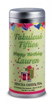 Fabulous Birthday   The Tea Can Company