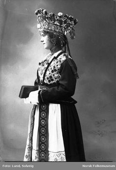 Norwegian wedding crown