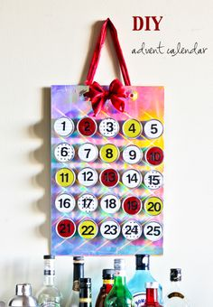 Project 24/52: DIY Magnetic Advent Calendar