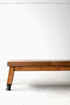 Gymnastic Leather Bench