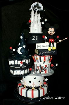 Mickey mause cake