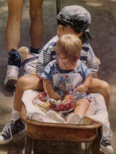 Steve Hanks - I love this, reminds me so much of my boys when they were little <3