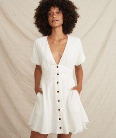 White Button Down, Button Down Dress, Nursing Pajamas, Comfy Dresses, Last Call, Big Kids, Fashion Forward, Dress Skirt, White Dress
