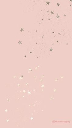 Pink star wallpaper - quotes & designs by b - - Rose Gold Wallpaper, Star Wallpaper, Glitter Wallpaper, Tumblr Wallpaper, Pink Lock Screen Wallpaper, Rose Gold Lockscreen, Pastel Pink Wallpaper Iphone, Iphone Wallpaper Vsco, Iphone Background Wallpaper