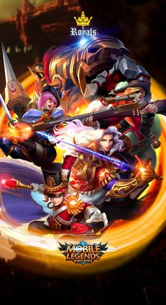 Mobile Legends Royal Squad by xuneo on DeviantArt - Best of Wallpapers for Andriod and ios Mobile Wallpaper Android, Best Wallpaper Hd, Mobile Legend Wallpaper, Hero Wallpaper, Custom Wallpaper, Bruno Mobile Legends, Miya Mobile Legends, Gaming Wallpapers, Cute Wallpapers