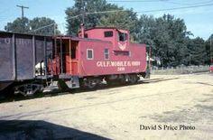 richton mississippi railroad photo | GM&O caboose 2639 at Richton, Miss. in 1968. Vintage Trains, Railroad Pictures, Railroad History, Train Pictures, Train Car, Steam Locomotive, Model Trains, Mississippi, Illinois