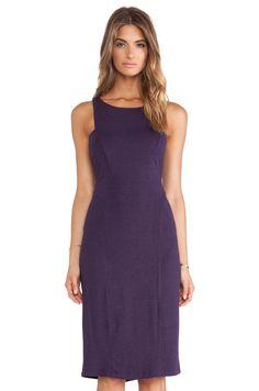 Heather Seamed Midi Dress