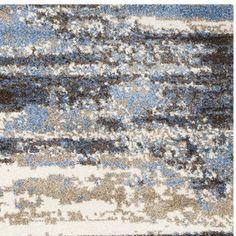 Safavieh Retro Cream/ Blue Rug (5' x 8') - Overstock™ Shopping - Great Deals on Safavieh 5x8 - 6x9 Rugs
