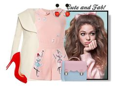 """""""......."""" by elenb ❤ liked on Polyvore featuring J.W. Anderson, RED Valentino, Christian Louboutin, La Cartella, Marni, women's clothing, women's fashion, women, female and woman"""