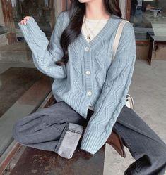 Korean Girl Fashion, Ulzzang Fashion, Korean Street Fashion, Asian Fashion, Ulzzang Girl, Korean Fashion Pastel, Korea Street Style, Kfashion Ulzzang, Korea Fashion
