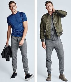 Two ways to wear joggers #gap