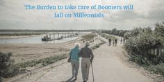 Millennials need to have the talk with their parents, and its not one anyone likes to talk about: Estate Planning.   Boomer parents are aging, and the burden of taking care of the Boomer Generation will fall on millennials. What kind of burden? Well, for example, assisted living is around $43,000 a year; nursing home care costs around $80,000 a year; and even home care will run you around $17,000!
