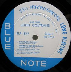 JOHN COLTRANE Blue Train / BLP 1577   47W MONO