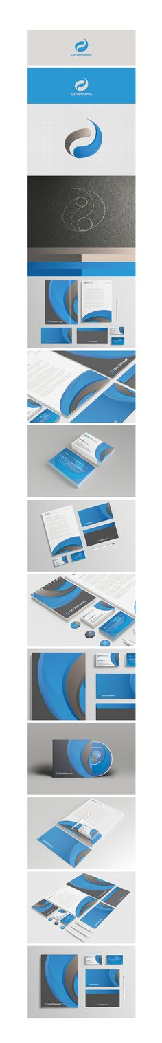 Cryodynamic #branding  Cryodynamic was designed from the ground up, based on the needs of #Singapore process and #industrial plant #engineering services  #company.  More images: https://www.behance.net/gallery/18426921/Cryodynamic-Branding