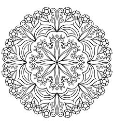 Coloring page from the ColorArt coloring app