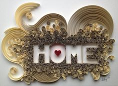Quilled gift or decor by PaperLiberated on Etsy, $280.00