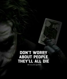 Must Read Inspirational Quotes By Famous People About What Is Essential In Life Quotes) - Page 2 of 2 - Awed! Heath Ledger Joker Quotes, Best Joker Quotes, Badass Quotes, Reality Quotes, Mood Quotes, Attitude Quotes, Wisdom Quotes, True Quotes, Psycho Quotes