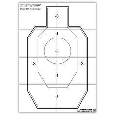 Printable IDPA practice target