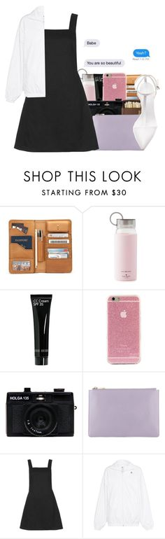 """Daddy you're so handsome 😍💦"" by daddyslittlevixen ❤ liked on Polyvore featuring Kate Spade, Bobbi Brown Cosmetics, Holga, Motel, adidas Originals and Zara"