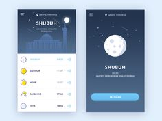 Adzan App Concept 2 by Riko Sapto Dimo