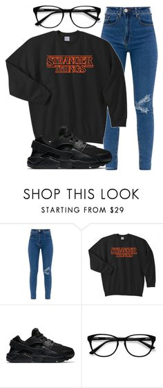 """you already know ✌️"" by sydthekyd01 on Polyvore featuring NIKE and EyeBuyDirect.com"