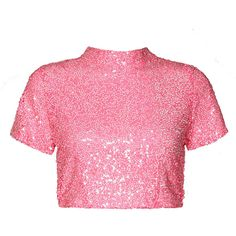 Collection featuring Prada Tops, Boohoo Tops, and 194 other items Neon Pink Shirts, Neon Pink Tops, Neon Crop Top, Pink Tees, Crop Tops, Stage Outfits, Kpop Outfits, Pink Outfits, Kpop Fashion