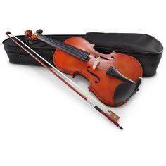 VIOLIN NEW IN BOX   SIZE  23 1/2 x 7 3/8 x 2 3/8h. .4/4 NEW #violin