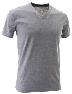 FLATSEVEN Mens V-Neck Cotton T-Shirts (TVS01) Grey, 2XL FLATSEVEN http://www.amazon.co.uk/dp/B00E4HKWJY/ref=cm_sw_r_pi_dp_IVllub0M7HW3B