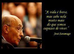 José Saramago - 'vida'