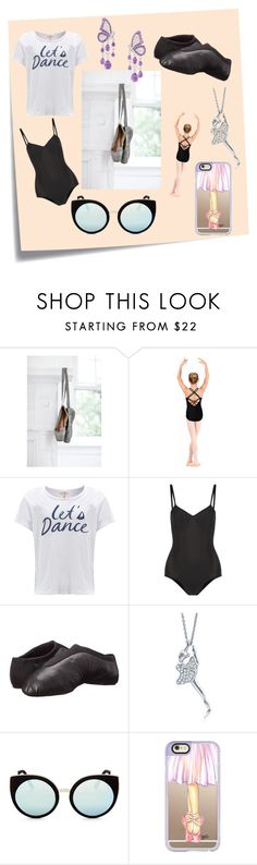 """Little Dancer by Giselle"" by davinia-melki-tahche ❤ liked on Polyvore featuring Post-It, Sundry, Ballet Beautiful, Bloch, BERRICLE, Quay and Casetify"
