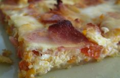 Hawaiian Pizza, Lasagna, Quiche, Snacks, Chicken, Cooking, Ethnic Recipes, Food, Savoury Pies