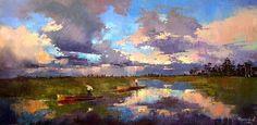 Art Clouds Painting  - Anastasija Kraineva