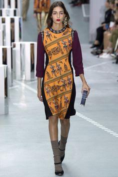 Mary Katrantzou Spring 2017 ready-to-wear collection London Fashion Week London Fashion Weeks, Fashion Week Paris, Spring Fashion 2017, Mens Fashion Week, Fashion Show, Fashion Trends, Mary Katrantzou, Greek Fashion, Catwalk Collection