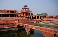 Your Guide to Visiting Historic Fatehpur Sikri in India: Fatehpur Sikri.