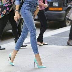 Pinterest: iamtaylorjess | Tiffany blue heels #fashion