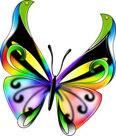 """Photo from album """"Бабочки PNG"""" on Yandex. Butterfly Clip Art, Butterfly Drawing, Butterfly Pictures, Butterfly Kisses, Butterfly Wallpaper, Butterfly Cards, Butterfly Flowers, Beautiful Butterflies, Fabric Painting"""