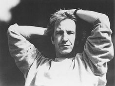 """1991 -- Alan Rickman in a publicity still from """"Close My Eyes."""""""